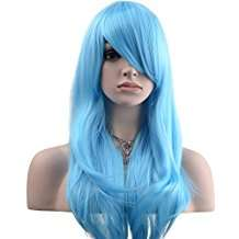 DIY Halloween Costume Idea - Light Blue Wig