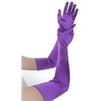 DIY Halloween Costume Idea - Long Purple Gloves