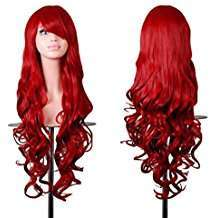 DIY Halloween Costume Idea - Long Red Wig