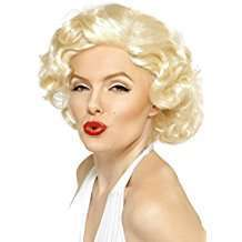 DIY Halloween Costume Idea - Monroe Wig