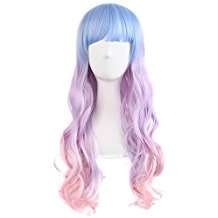 DIY Halloween Costume Idea - Pastel Wig