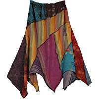 DIY Halloween Costume Idea - Patchwork Skirts