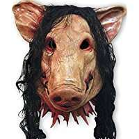 DIY Halloween Costume Idea - Pig Mask
