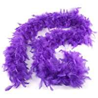 DIY Halloween Costume Idea - Purple Boa