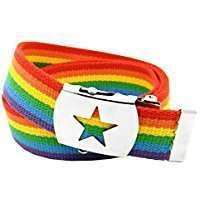DIY Halloween Costume Idea - Rainbow Belt