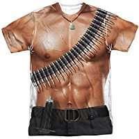 DIY Halloween Costume Idea - Rambo Shirt