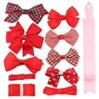 DIY Halloween Costume Idea - Red Bow Clips