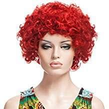 DIY Halloween Costume Idea - Red Curly Wig