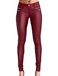 DIY Halloween Costume Idea - Red Leather Pants