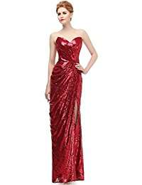 DIY Halloween Costume Idea - Red Sequin Dresses