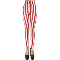 DIY Halloween Costume Idea - Red Striped Leggings