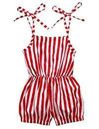 DIY Halloween Costume Idea - Red Striped Onesies