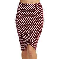 DIY Halloween Costume Idea - Red Striped Skirt