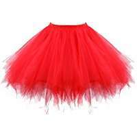DIY Halloween Costume Idea - Red Tutu