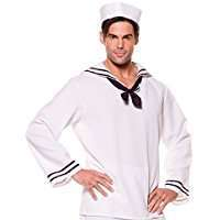 DIY Halloween Costume Idea - Sailor Shirt
