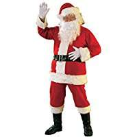 DIY Halloween Costume Idea - Santa Clause