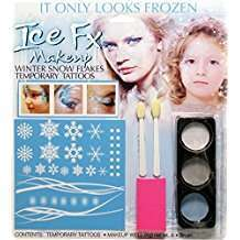 DIY Halloween Costume Idea - Snow Flake Make Up Kit