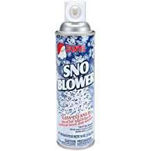 DIY Halloween Costume Idea - Snow Spray