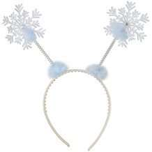 DIY Halloween Costume Idea - Snowflake Headband
