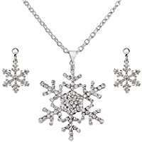 DIY Halloween Costume Idea - Snowflake Jewelry