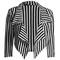 DIY Halloween Costume Idea - Striped Blazer