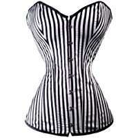 DIY Halloween Costume Idea - Striped Corset