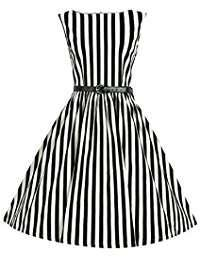 DIY Halloween Costume Idea - Striped Dresses