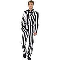 DIY Halloween Costume Idea - Striped Suit