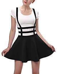 DIY Halloween Costume Idea - Suspender Skirt