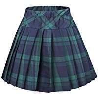 DIY Halloween Costume Idea - Tartan Skirt