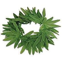 DIY Halloween Costume Idea - Tropical Leaf Headband