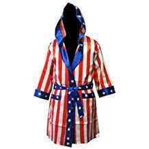 DIY Halloween Costume Idea - USA Boxing Robe