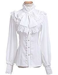 DIY Halloween Costume Idea - Victorian Blouse