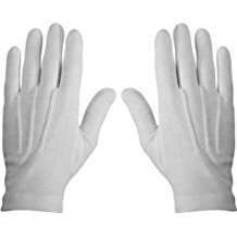DIY Halloween Costume Idea - White Gloves