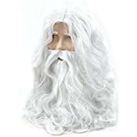 DIY Halloween Costume Idea - White Wig & Beard