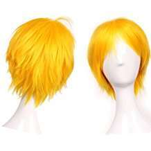 DIY Halloween Costume Idea - Yellow Wig
