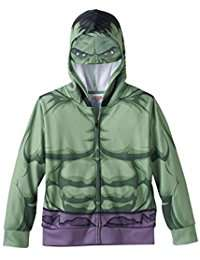 DIY Hulk Halloween Costume Idea - Hoodie