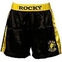 DIY Rocky Balboa Halloween Costume Idea - Shorts
