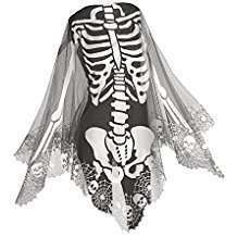 DIY Skeleton Halloween Costume Idea - Poncho