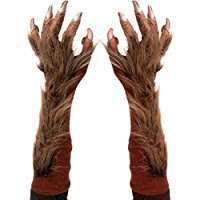 DIY Wolf Halloween Costume Idea - Gloves