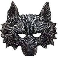 DIY Wolf Halloween Costume Idea - Mask