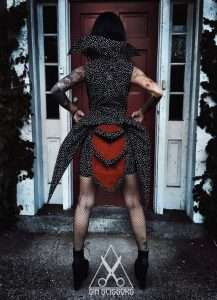 Etsy - DIY Coralines Other Mother Halloween Costume Idea - Dress