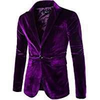 DIY Balthazar Bratt Halloween Costume Idea - Purple Velvet Blazer