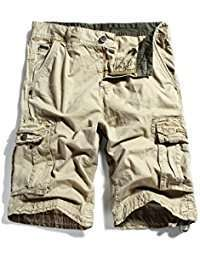 DIY Halloween Costume Idea - Beige Cargo Shorts