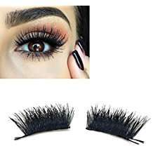 DIY Halloween Costume Idea - Big Black Eyelashes