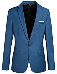 DIY Halloween Costume Idea - Blue Blazer