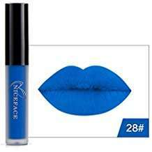DIY Halloween Costume Idea - Blue Lipstick