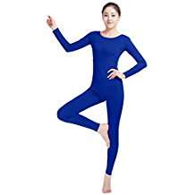 DIY Halloween Costume Idea - Blue Unitard