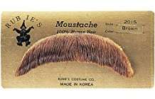 DIY Halloween Costume Idea - Brown Moustache