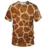 Amazon - DIY Halloween Costume Idea - Giraffe Shirts